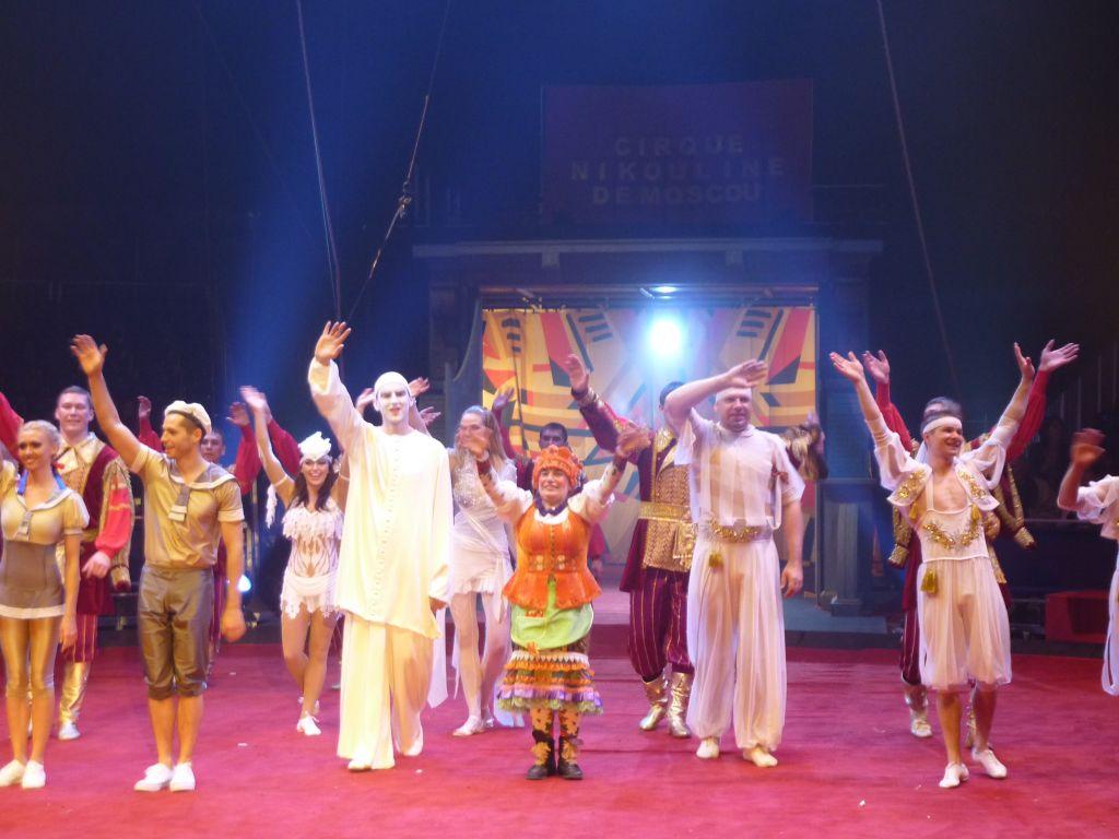 Le Cirque Nikouline de Moscou en Tournee en France